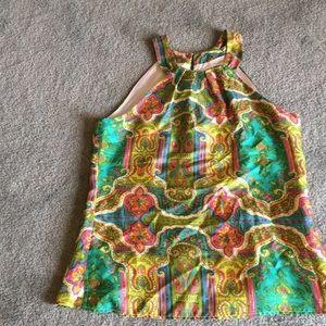 Silky summer blouse